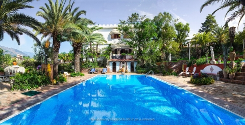 Villa with swimming pool in Taormina Trappitello