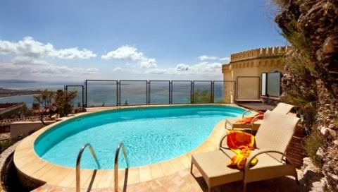 """""""The view of Taormina"""" Villa Super Panoramica  in Taormina"""
